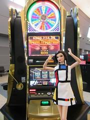 Las Vegas Airport9 (annesstuff) Tags: annesstuff terminal3 airport lasvegas doll fashiondoll traveldoll mattel barbie slots slotmachines barbieconvention nationalbarbieconvention jacksonville florida