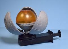 Spinning Death Star (broken) from Taco Bell (FranMoff) Tags: toy deathstar spinning sparks tacobell fastfoodtoys