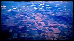 patchwork...(HSS) (BillsExplorations) Tags: hss sliderssunday patchwork patterns field plane flying clouds sky kansas