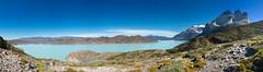 Lago Nordenskjld and Los Cuernos del Paine (Vaclav Klicnik) Tags: 2016 cerrobalmaceda cerropainegrande chile dovolen hdrpanoramasource lagonordenskjld loscuernos miradorcuernos np panorama patagonie torresdelpaine trekking wcircuit zima jinamerika