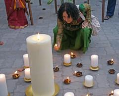 inauguration_Chantal_5309 (Manohar_Auroville) Tags: art beauty chennai luigi inauguration auroville artexhibition fedele manohar