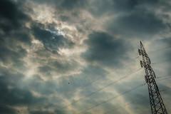 Eclipse March 21, 2015 (*AM*Photography) Tags: sky italy sun moon milan clouds landscape solar eclipse nikon d3200