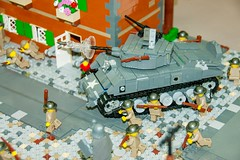 """Fire!"" (SEdmison) Tags: italy oregon portland lego wwii battle canadian worldwarii german convention ortona brickscascade brickscascade2015"