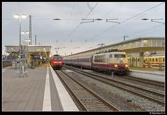 DB 103 235 - IC 118 (Spoorpunt.nl) Tags: 2 station juni ic 21 bahnhof db re bahn hbf 103 regional münster trein intercity deutsche 118 146 2014 0039 expres baureihe 2358 10232