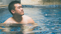 Poolside man #19 (Lonyice) Tags: man pool naked nikon body taiwan taichung