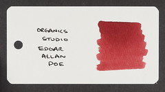 Organics Studio Edgar Allan Poe - Word Card