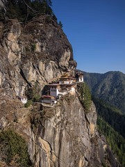 The classic views of Paro Taktsang - Tiger's nest monastery (alison ryde - back in town for now) Tags: voyage travel holiday building design scenery asia southeastasia view bhutan miracle buddhist buddhism icon architect monastery worldwide vista taktsang himalaya iconic phototrip discover em1 2015 roofoftheworld tigersnest worldtraveller worldexplorer kingdomofbhutan himalayankingdom himalayankingdoms tigersnestmonastery worlddiscovery microfourthirds kingdomofthedragon parotaktsang alisonryde taktsangpalphugmonastery olympusem1 bhutanesekingdom bhutanbeauty bhutanesebuddhism