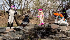 P4180491 (yarrickphotograwuff) Tags: picnic romp fursuit mnfurs