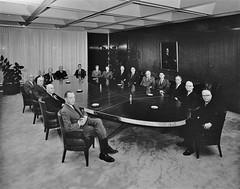 Upjohn building 88 Boardroom - May 1966