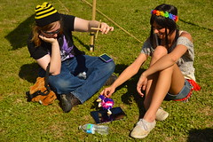 Puppet show (radargeek) Tags: flowers oklahoma puppet norman ok normanmedievalfaire2015