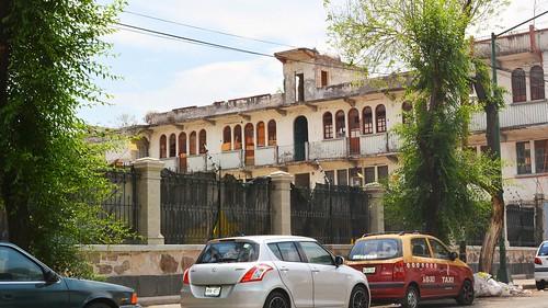 Garden Wall of the Rivas Mercado House (Saturday 28 March 2015)