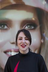 Faces (fotopierino) Tags: face portraits faces negozio sorriso vetrina ritratti ritratto sephora ragazza pubblicit cremona sguardi commessa fotopierino