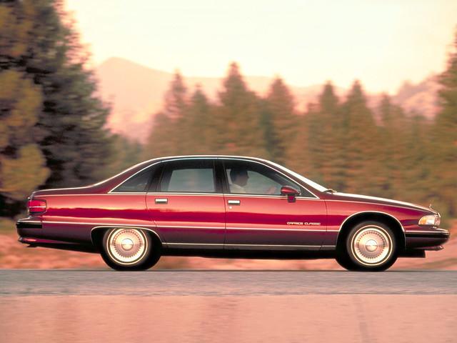 classic chevrolet caprice 1991–1993