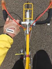 I like yellow (ddsiple) Tags: yellow cycling jacktaylor