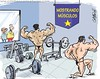 Sacando músculos (Caricaturascristian) Tags: del pre dentro caricatura danilo leonel elecciones músculos prm prd 2016 mostrando pld candidato candidatura precandidatura