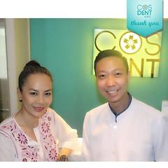 2015-0055 ทางคลินิกทันตกรรมคอสเดนท์ขอขอบคุณ คุณต่าย เพ็ญพักตร์ ศิริกุล