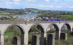 150104 Collegewood Viaduct, Penryn (Marky7890) Tags: train cornwall viaduct penryn sprinter dmu fgw class150 collegewood 150104 2t80