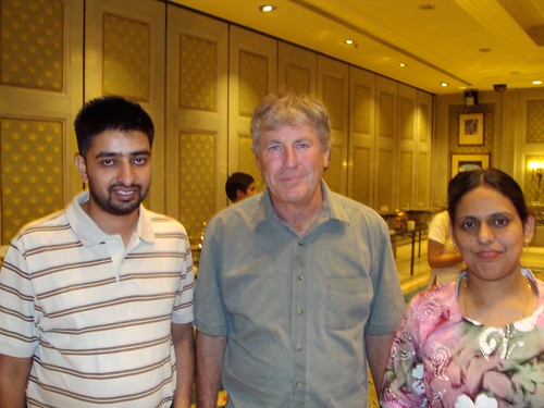 Director Mr. G.S.Kang with New Zealand Cricket Player John Wright
