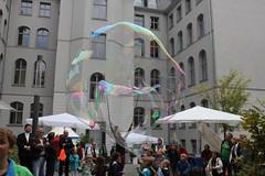 Seifenblasenfabrik Bubblebo Seifenblasenshow beim Tag der offenen Tür im Bundesministerium für Landwirtschaft 12