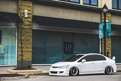 RB's Civic (jaybaumphoto) Tags: honda air civic jdm slammed superstreet fa5 importalliance downstar canibeat stancenation jaybaumphoto bradawheels