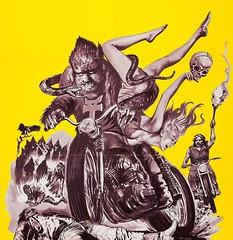 Werewolves on Wheels 1971 (File Photo Digital Archive) Tags: heritage illustration movie advertising 1971 ha