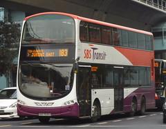 SBS7535D-Service 183 (SG Transport Pics) Tags: buses eclipse volvo transit wright gemini weg sbs wrightbus b9tl wegii