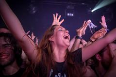 live music (nunodantas) Tags: music color girl digital live gojira x100 hardclub