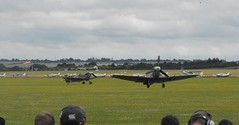 Spitfires @ 'Flying Legends', Duxford - July 2016 (Andy Reeve-Smith) Tags: rollsroyce merlin ww2 duxford spitfire cambridgeshire griffon worldwartwo supermarine 2016 flyinglegends