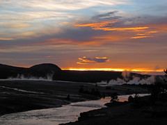 Sunset (5 July 2016) (Yellowstone, Wyoming, USA) 4 (James St. John) Tags: sunset july 2016 excelsior group midway geyser basin yellowstone wyoming