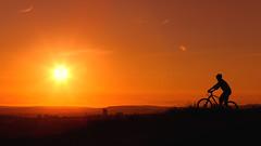 Cycling View (sampollittphoto) Tags: summer dusk sunset bicycle cycle view hartsheadpike moorland tameside ashtonunderlyne mossley oldham england uk unitedkingdom