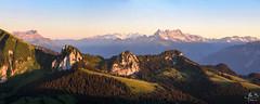 panorama alpin (MB*photo) Tags: sunset panorama alps montagne alpes schweiz switzerland suisse t soir lman coucherdesoleil panoramique vaud dentsdumidi romandie hongrin pralpes malatraix wwwifmbch