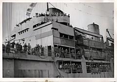 USS Crenshaw (APA-76), Gilliam Class Attack Transport, Midship, Landing Craft, Sailors, Bridge (photolibrarian) Tags: bridge sailors landingcraft midship usscrenshawapa76 gilliamclassattacktransport
