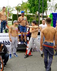IMG_6033 (danimaniacs) Tags: losangeles gay pride parade westhollywood shirtless hot sexy guy man hunk tattoo back