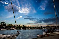 Clouds (jah32) Tags: portdalhousie ontario canada water lakeontario greatlakes thegreatlakes boats boat summer summerskies harbour harbor stcatharines harbours