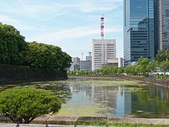 Tokyo 269 (micharl_be) Tags: japan tokyo hochhuser wolkenkratzer architektur tokyochuo kaiserpalast ostgarten