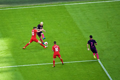 Messi (cchana) Tags: barcelona barelona lfc liverpoolfc liverpool fcb football match players grass wembley game soccer adamlallana lallana philippecoutinho coutinho lionelmessi messi ardaturan turan