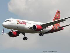 Batik Air. Company From Indonesia. (Jacques PANAS) Tags: batik air airbus a320214wl pklaz fwwbi msn7160