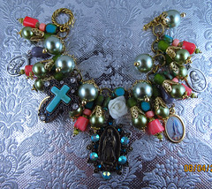 Our Lady of Guadalupe Catholic Medals Charm Bracelet (inspirational) Tags: religiousjewelry handmade handcrafted catholicjewelry religiouscharmbracelet catholiccharmbracelet joyeriacatolica joyeriareligiosa pulserareligiosa pulseracatolica catholicmedals religiousmedals virginmary medallascatolicas religiosas virgenmaria ourladyofguadalupe nuestrasenoradeguadalupe virgendeguadalupe coral cross ourladyofmiraculousmedal stpeter pearls perlas