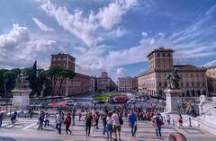 Piazza Venezia-Roma (ansacariofoto) Tags: rome roma architecture tokina piazzavenezia atx116prodx tokina1116 nikond5000