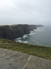 Ireland 2016 (Tyler Knorr) Tags: camera iphone springbreak tall walk cliffs cliffsofmoher travel countyclare clare ireland