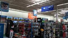 ...Video Games and Computer Accessories are now DVDs and CDs (Retail Retell) Tags: hernando ms walmart desoto county retail project impact supercenter store 5419 interior remodel black dcor 20 icons