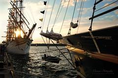 Tall Ships At Sunset (M.Christine Duncan) Tags: tallships ships history ontario canada sorlandet sunset nautical water
