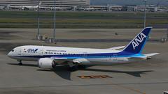 IMG_1505 JA835A (biggles7474) Tags: boeing 787 dreamliner ana all nippon airlines tokyo haneda international airport hnd ja835a b788 b7878