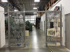 Alcoa Aluminum Gates (Bitmapped) Tags: grovecity mercercounty pennsylvania usa wendellaugustforge