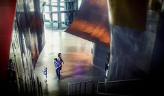 """Little"" discussion - Seattle, Washington (, ) (dlau Photography) Tags: discussion seattle washington   begging    empmuseum emp museum emp  emp  girl   conclusion   travel tourist vacation visitor people lifestyle life style sightseeing   trip   local   city  urban tour weather   astoundingimage"