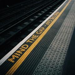 London Underground (desomnis) Tags: london underground station urban england mindthegap canon6d desomnis tamron2470mm lines line gap londonunderground vsco patterns pattern