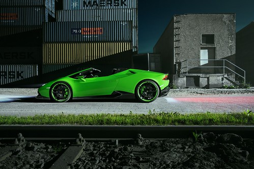 Lamborghini Huracan Spyder от Novitec Torado