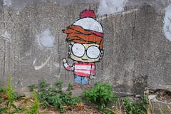 Avataar (HBA_JIJO) Tags: streetart urban vitry vitrysurseine pochoir stencil avataar art france hbajijo wall mur painting peinture paris94 spray charactere