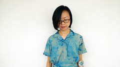 Simple Upcycle Of Garment (irecyclart) Tags: clothes diy shibori tiedye upcycled
