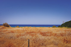 (Laura Marchini) Tags: waste land aridity summer greece journey nikon nikond90 pic picture photography photo gold landscape sky skyline day sea beach love life